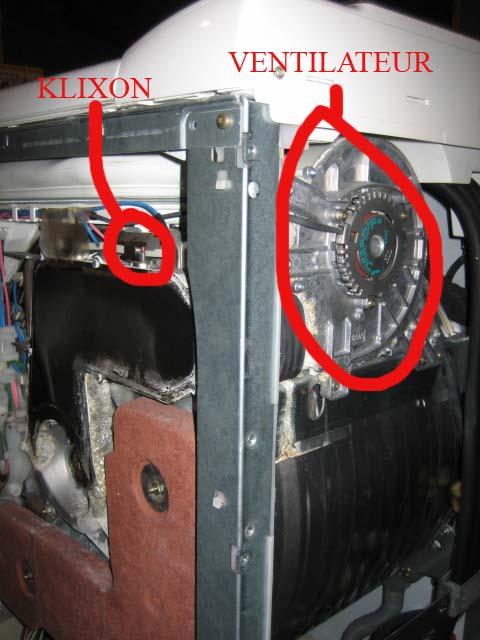 S chage ne fonctionne plus sur machine laver for Interieur machine a laver